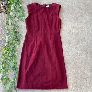NEW MM Lafleur Textured Shift Dress